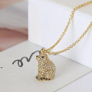 Kate Spade Cute Polar Bear Necklace